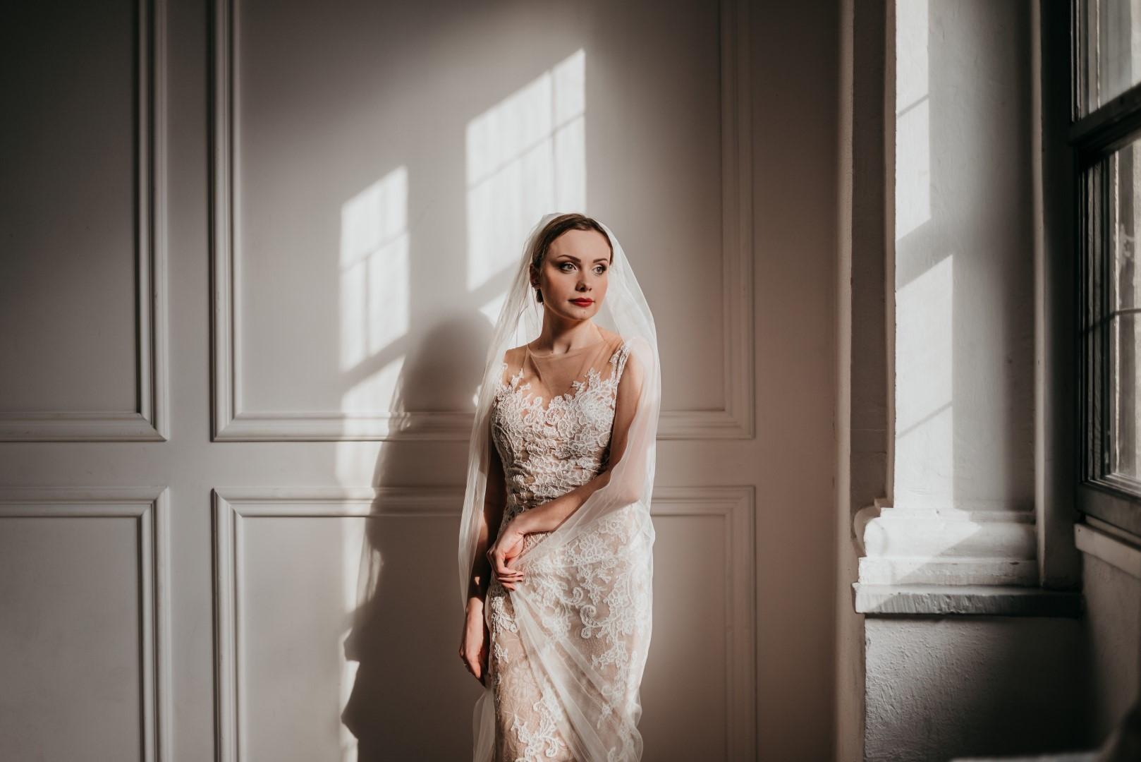stylizowana sesja ślubna