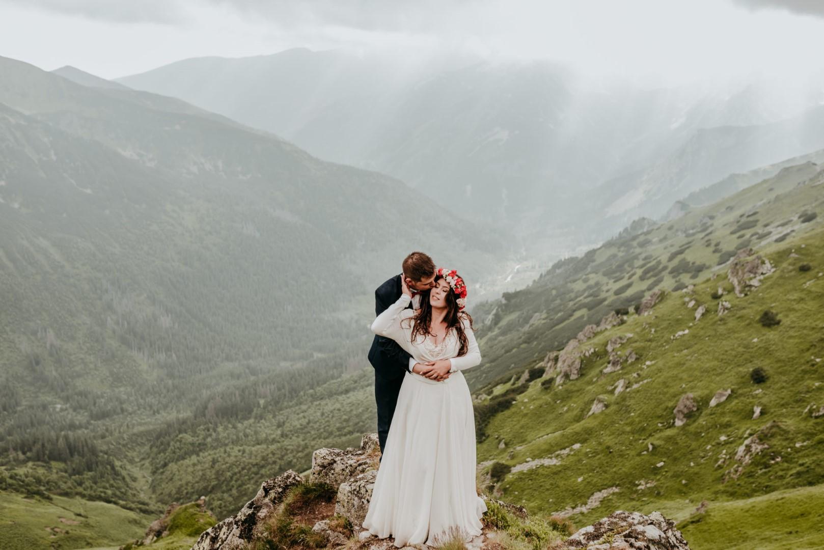 sesja ślubna na kasprowym wierchu