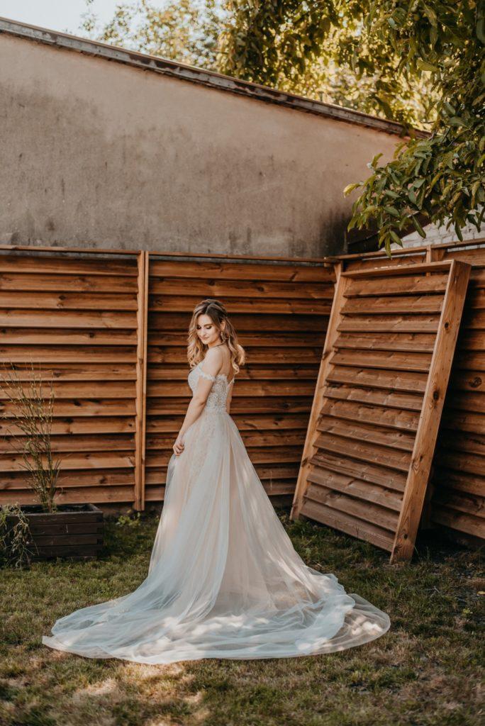 suknia ślubna, eliana kresa suknie ślubne, rustykalna panna młoda