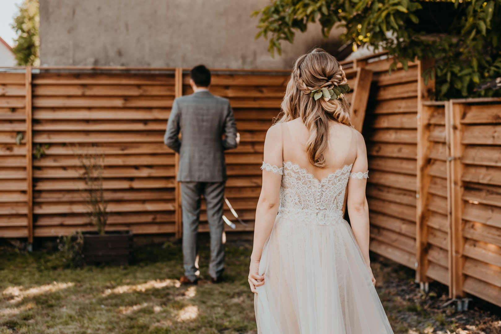 first look, rustykalne wesele, panna młoda