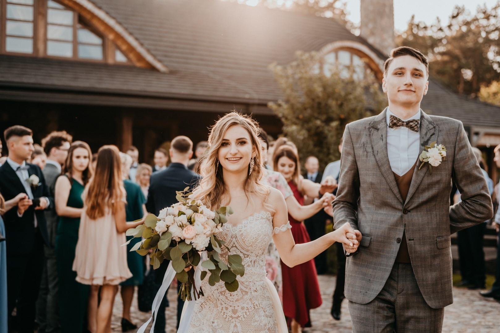 rustykalne wesele Firlejowe Sioło, polonez, rustykalne wesele