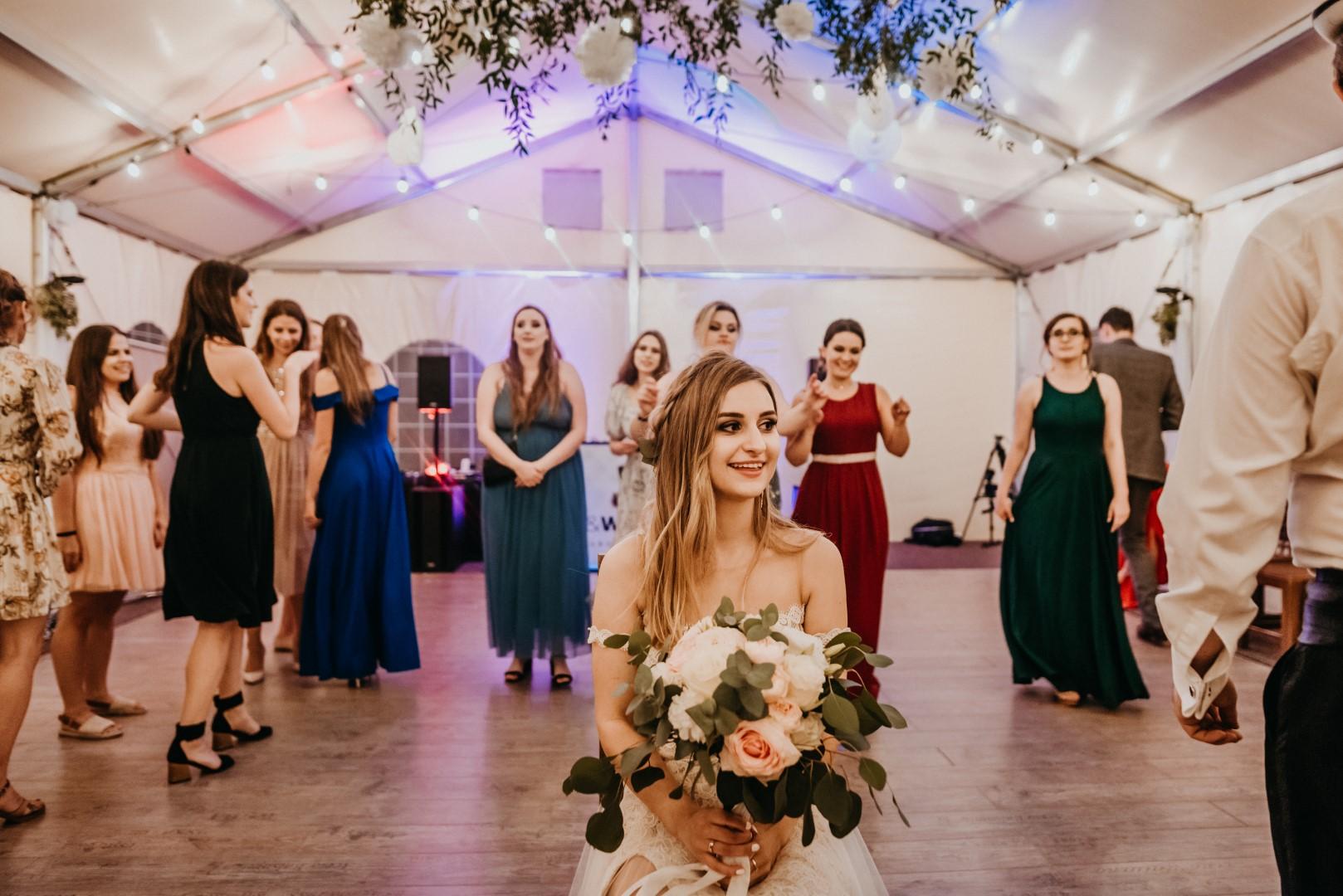 rustykalne wesele Firlejowe Sioło, rustykalna panna młoda