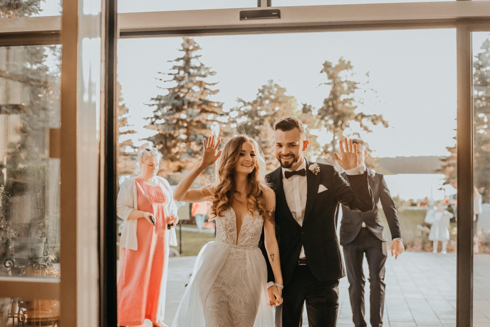 ślub humanistyczny na Mazurach, hotel Mazurski Raj, wesele